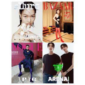 Collection of June 2018 magazines/supplements (VOGUE allure W NYLON GRAZIA)