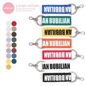 bubilian 버빌리안 포인트 라벨 키홀더 17 color