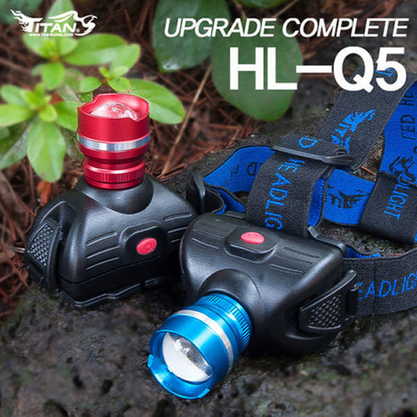 FL/타이탄코리아 HL-Q5 줌 헤드랜턴 (2단모드) 상품이미지