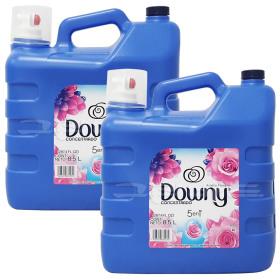 다우니 대용량 섬유유연제 아로마플로럴 8.5L 2개 농축