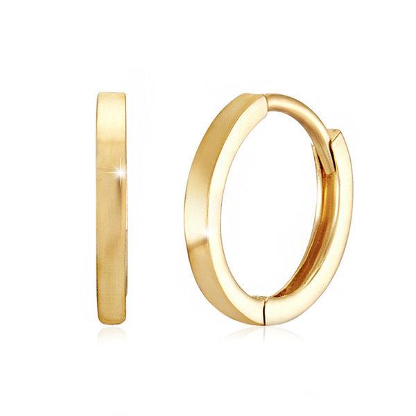 14K GOLD 10mm민자 이어링 상품이미지