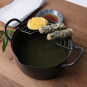 홈메이드 튀김냄비 (냄비+튀김망)