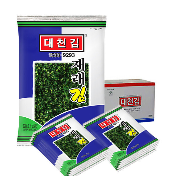대천김 재래김 25봉 본사직송 본사직영 상품이미지