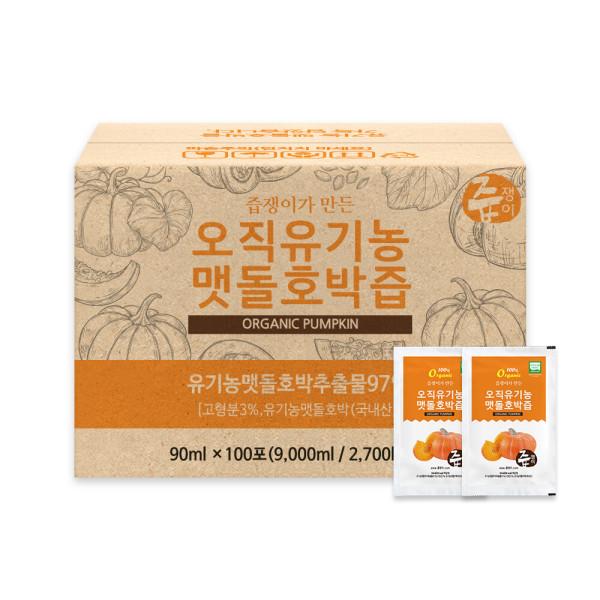 즙쟁이 유기농 맷돌호박즙 100포 상품이미지