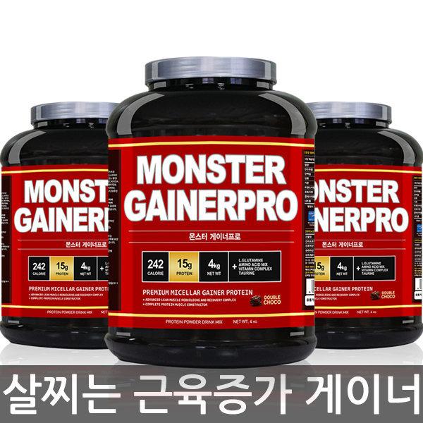 근육체중증가 단백질 머슬 M 게이너 프로틴 4kg 상품이미지