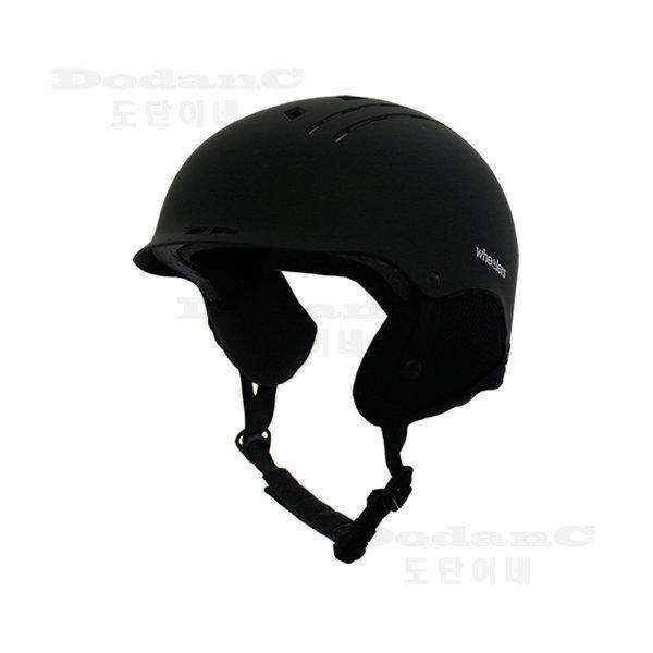 WH-100 스키 스노우보드 헬멧 블랙 사이즈조절 귀마개 상품이미지