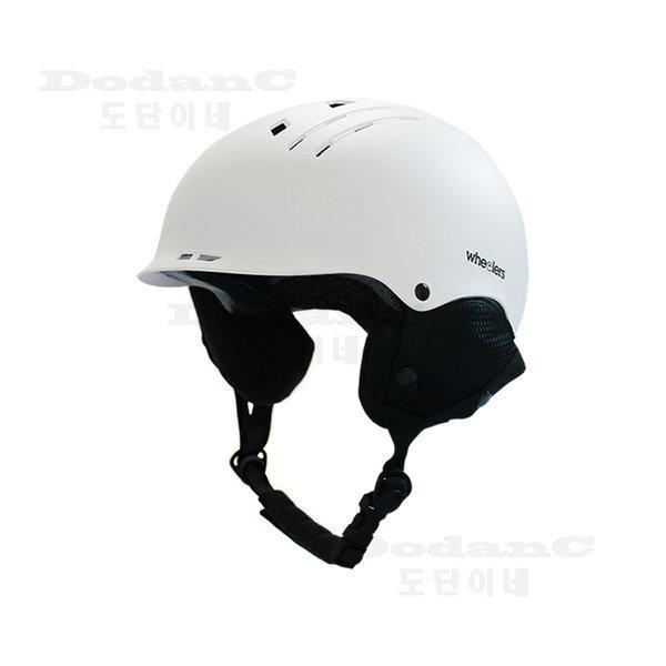 스키 스노우보드헬멧 보드헬멧 안전모 WH-100 화이트 상품이미지