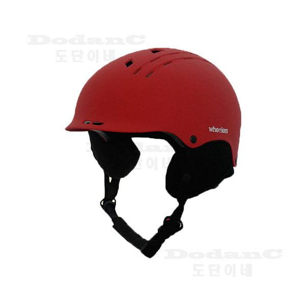 스키 스노우보드헬멧 보드헬멧 안전모 WH-100 레드 상품이미지