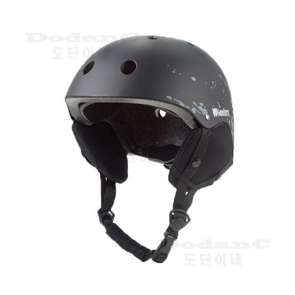 WH-90 스키 스노우보드 헬멧 블랙 사이즈조절 귀마개 상품이미지