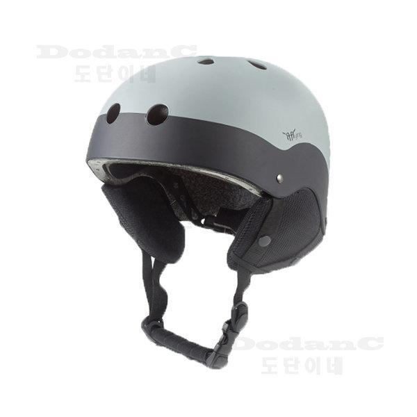 WH-90 스키 스노우보드 헬멧 이프플라잉 그레이 귀마개 상품이미지
