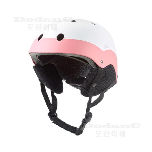 WH-90 스키 스노우보드 헬멧 이프플라잉 화이트핑크 상품이미지