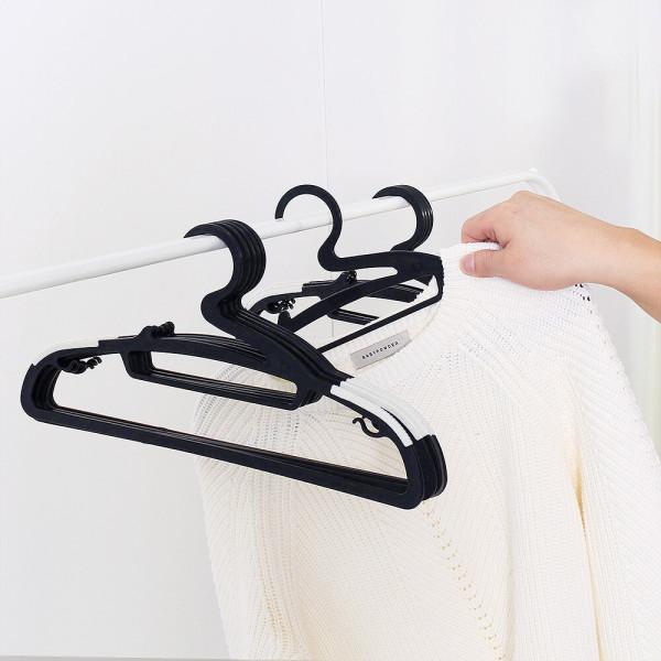 논슬립옷걸이 100개(블랙) 상품이미지