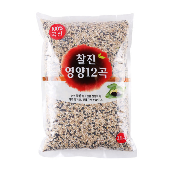 찰진영양12곡 3.8KG 봉 상품이미지