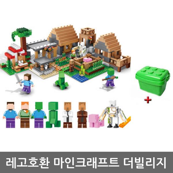 레고 호환 마인크래프트 시리즈 초대형 더빌리지 상품이미지