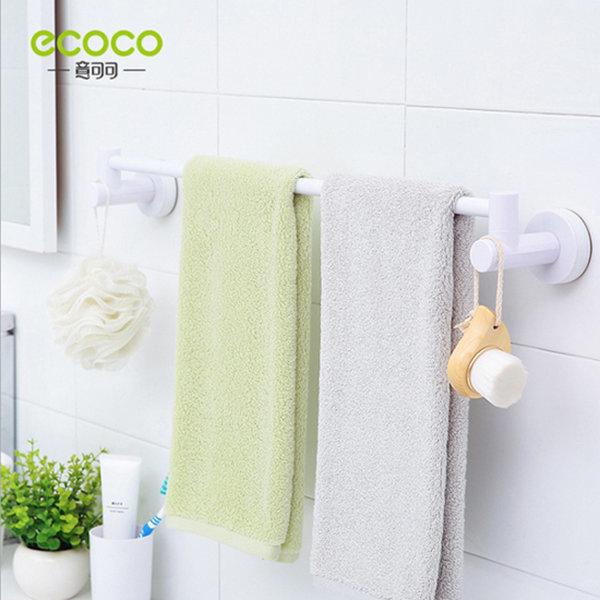ecoco 싱글 수건걸이(흡착 욕실 주방 부엌 선반 걸이) 상품이미지