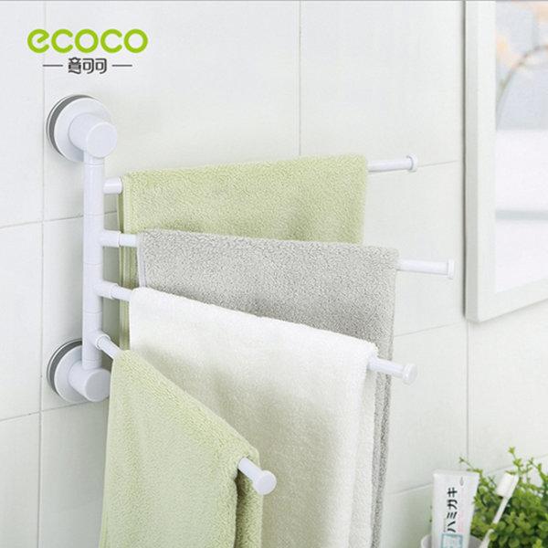 ecoco 멀티 수건걸이(흡착 욕실 주방 부엌 선반 걸이) 상품이미지