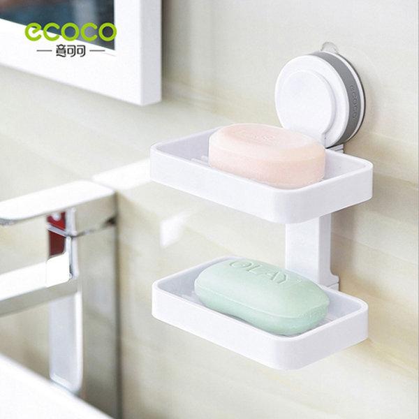 ecoco 더블 비누 걸이(욕실 주방 부엌 홀더 받침대) 상품이미지