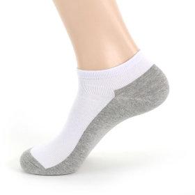 남자 여자 무지 발목양말 투톤색상10켤레