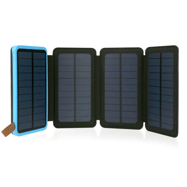 태양광 4판넬 8000mAh파워뱅크/캠핑등산 NEXT 8004FSC 상품이미지