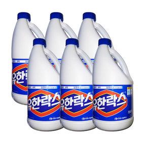 유한락스 레귤러 2L x 6개 /