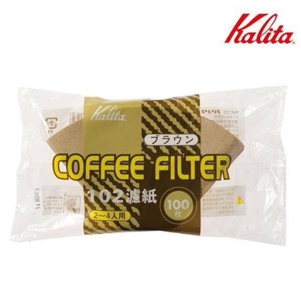 칼리타 NK 102 필터 (브라운)-커피여과지 커피거름지 상품이미지
