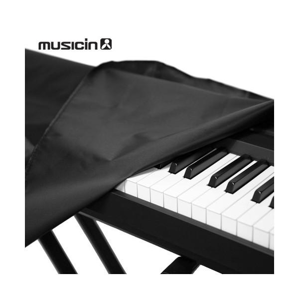 뮤직인  전자키보드  신디사이저 전체 덮개 61 76 88건반 /건반악기 피아노 커버 상품이미지