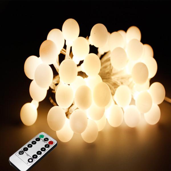 LED 앵두전구 벽트리 크리스마스전구줄조명 50구화이트 상품이미지