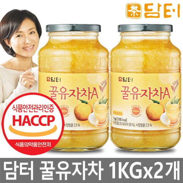 꿀유자차 A 1kg+1kg 총2kg/생강차/대추차 상품이미지