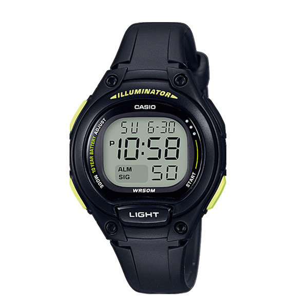 카시오 LW-203-1B 어린이 아동 전자방수 손목시계 상품이미지