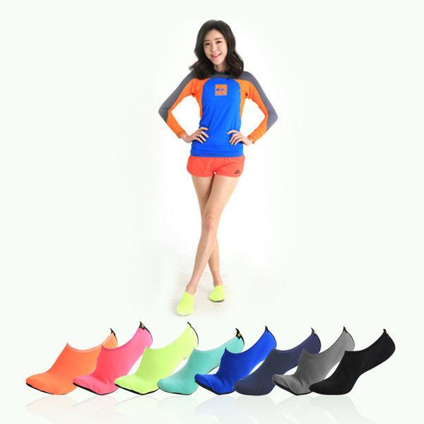 헐크 아쿠아슈즈 아동 유아 블루 성인 스킨 신발 워터 상품이미지