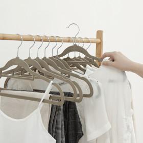매직논슬립일반형옷걸이50개 행거 헹거 수납 옷장정리