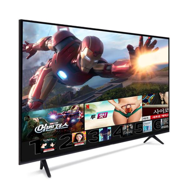 165cm TV 스마트 티비 넷플릭스 4K 티브이 무료설치 상품이미지