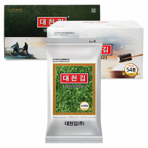 [대천김](C154)대천김 재래도시락김(5g)X54봉 세트