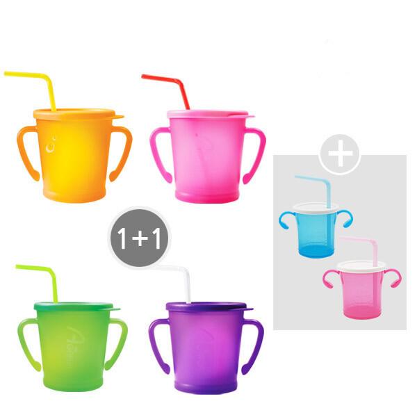 매직빨대컵 1+1 + 빨대컵2개증정 상품이미지