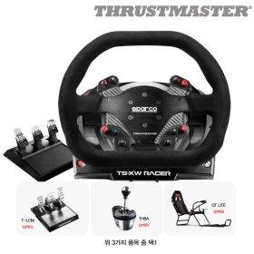 (트러스트마스터) 트러스트마스터 TS-XW 레이싱휠  TH8A 쉬프터 패키지  3패달 포함.(XBOX ONE 시리즈 X...