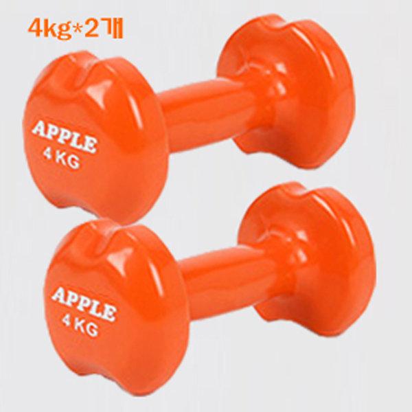 애플아령 4kg-2개 판매건.아령 상품이미지