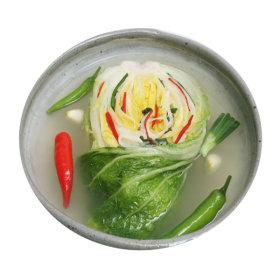 (국산) 김치 담백한 국물 백김치 2kg