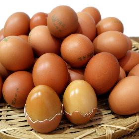 계란 구운란 훈제 구운계란  2판(정품45gx60알)+소금