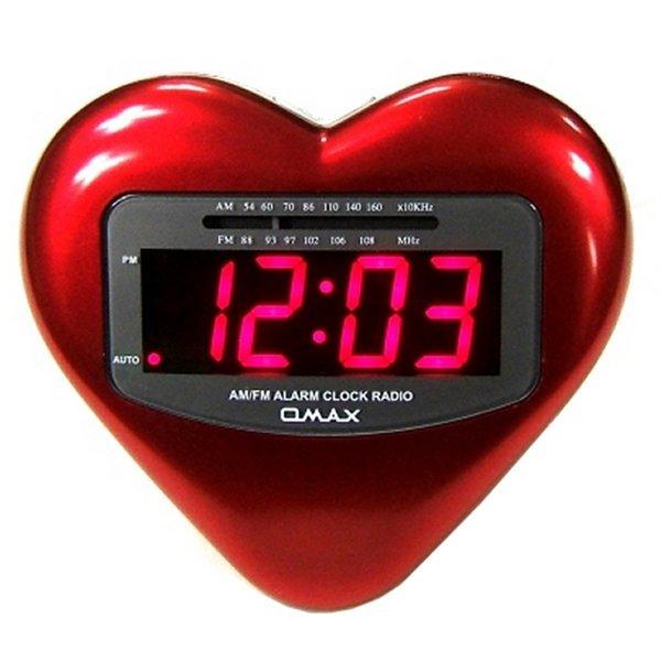 하트 시계 라디오-사랑고백 선물 촛불 연인 이벤트 상품이미지