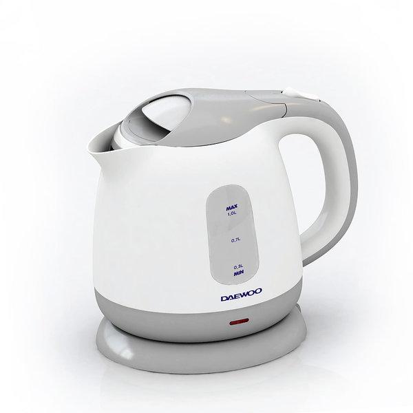 대우 전기주전자 1.0리터 무선 커피포트 DEK-D500 상품이미지