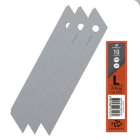 도루코 커터날L 대 18mm 낱개(10날입) CB-L 컷터날 C