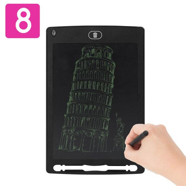 LCD-NOTE8 전자노트 부기보드 패드 태블릿 낙서장 상품이미지