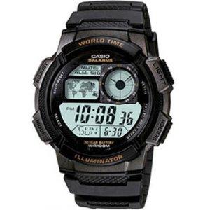 [카시오]카시오 AE-1000W-1A 군용 우레탄 알람스포츠손목시계