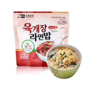 두리두리 육개장라면밥 105g 칼칼한 국물맛이 일품인
