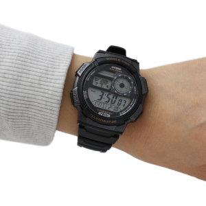 [카시오]카시오 AE-1000W-1A 스포츠전자 손목시계 군인군용 킥