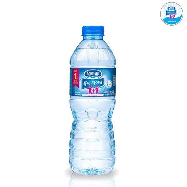 네슬레 퓨어라이프 생수 500mlx20펫/먹는샘물/물 상품이미지
