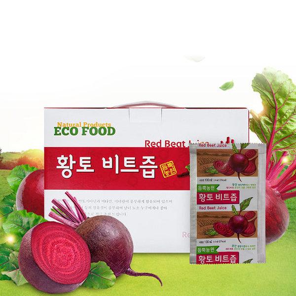 붉은맛이 살아있는무안황토 비트즙 50포 100ml 상품이미지