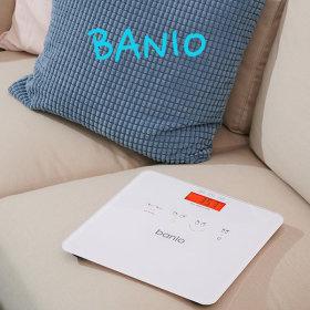 네이버 핫템.  banio 4색 BMI 디지털 체중계(화이트)