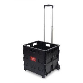 박스형 핸드카트 MI-BCW35(대형-블랙) 35kg적재/smile