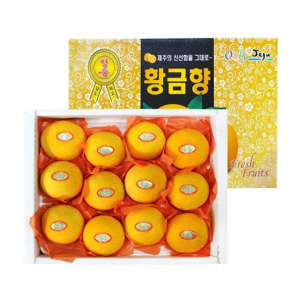 (자연두레) GAP인증 당도선별 황금향 선물세트 2kg (8~12과) 상품이미지